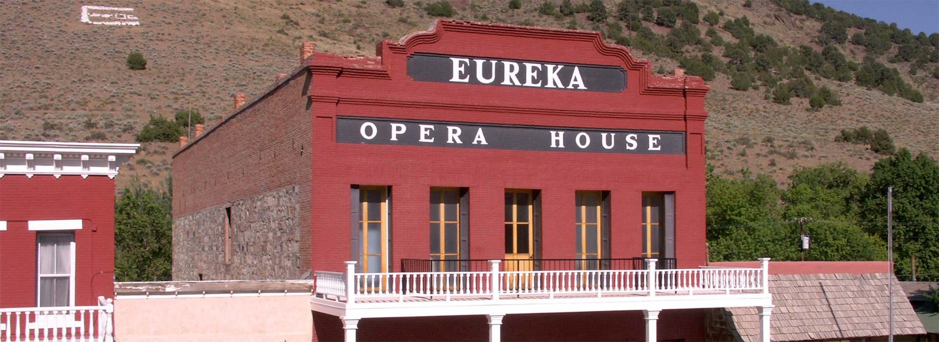 Eureka opera house all around nevada for Eureka house