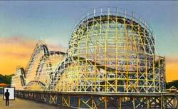 The Thunderbolt rollercoaster